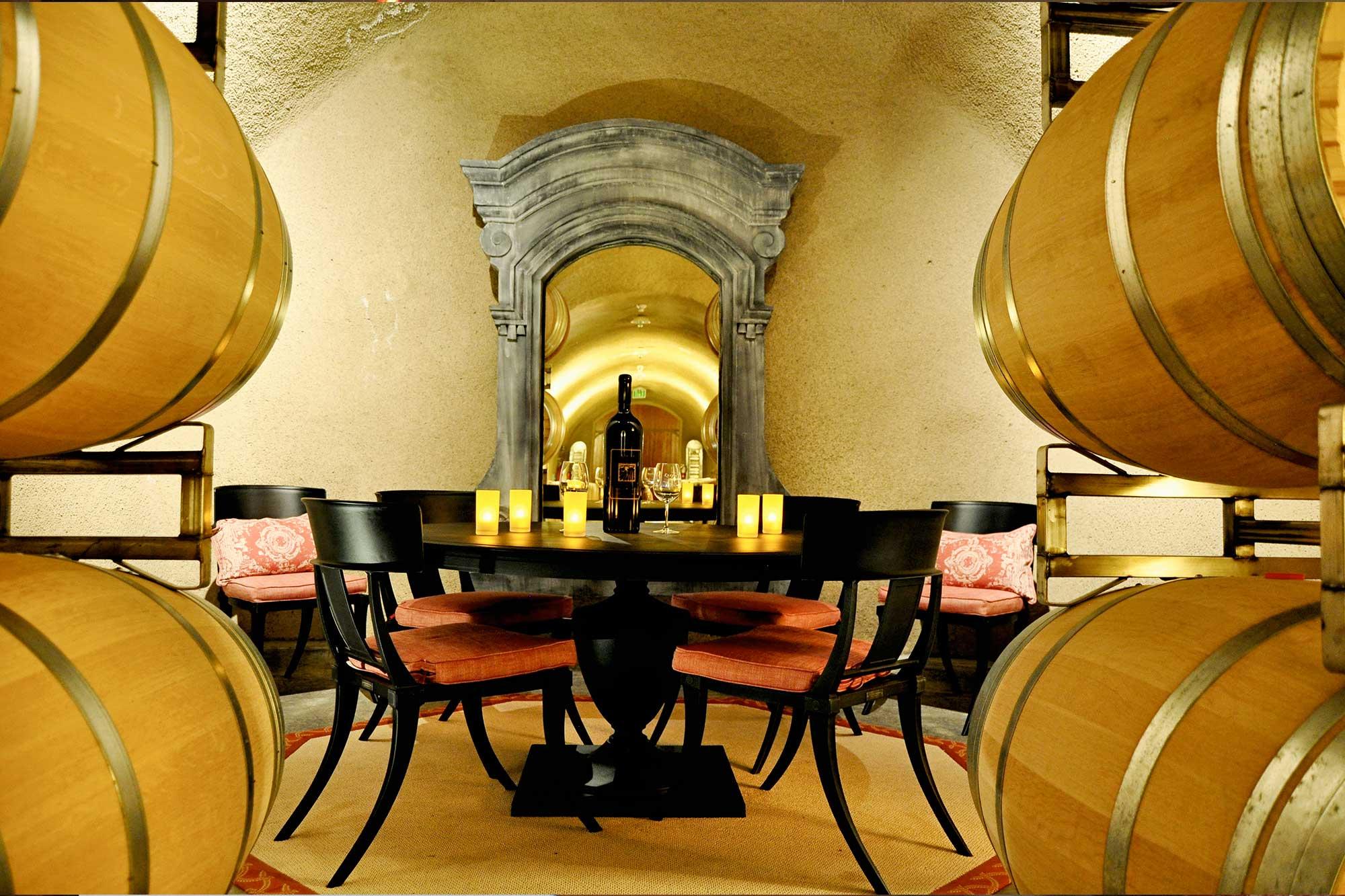 Tasting Room at Keever Vineyards in Yountville, California
