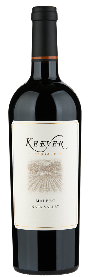 Malbec wine by Keever Vineyards