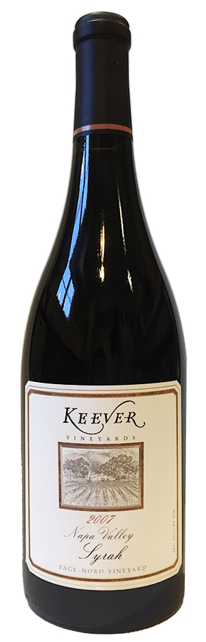 Syrah from Nord Valley by Keever Vineyards